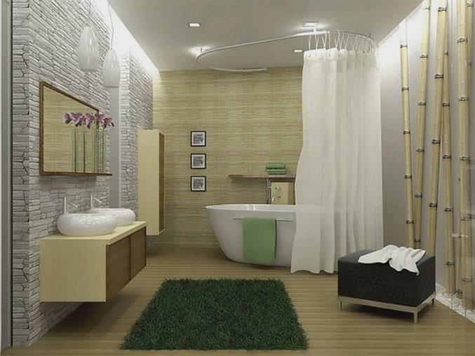 Советы по дизайну в ванной комнате
